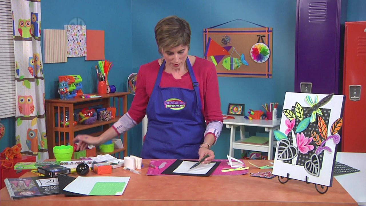 Candie Cooper Makes Rainforest Inspired Art Projects On Hands On