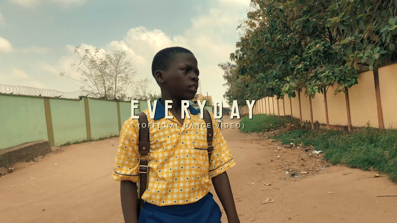 PATORANKING  - EVERYDAY  (OFFICIAL DANCE VIDEO)