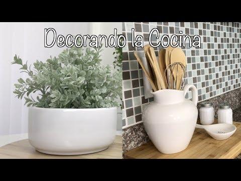 IDEAS DIY DECORACION PARA TU COCINA FÁCIL Y SIMPLE/DECORAR