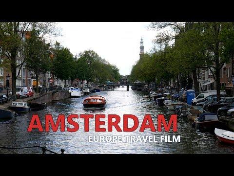 Wandering around AMSTERDAM | Europe Travel Film #1