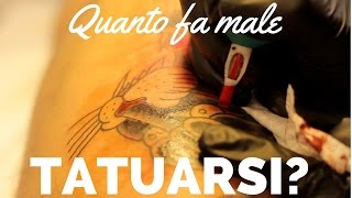 QUANTO FA MALE TATUARSI? | GORDON