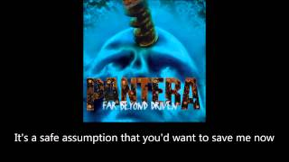 Pantera - Slaughtered (Lyrics)
