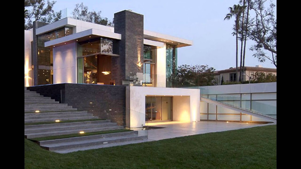 small modern house design architecture september 2015 youtube - Simple Modern House Plans