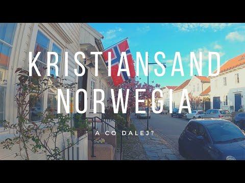 Kristiansand, czyli na samym południu Norwegii.