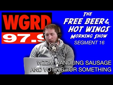 WZZM Handling Sausage and Voting or Something - FBHW Segment 16