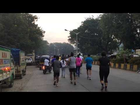 The  5km Ahimsa Fun Run Starting from Pushpa Narsee Park, Juhu