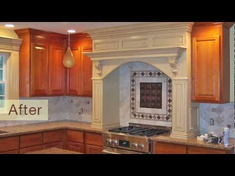 Kitchen cabinet refinishing in ct by franklin painting youtube