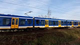 Sng 2708 testrit doorkomst te Oisterwijk. 17 februari 2019