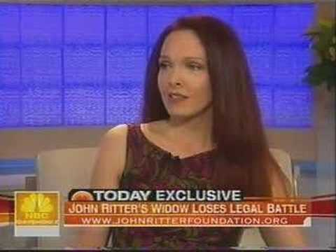 John Ritter's Widow on Today  with Meridith Viera