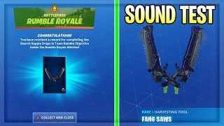 How To Get FANG SAW PICKAXE and X-LORD CHALLENGES GUIDE in Fortnite Season 10!