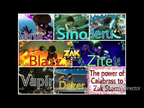 Zak Storm Super Power Of Calabrass