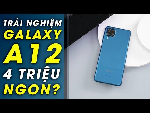 Trải nghiệm Galaxy A12: 128GB, 5.000mAh sạc nhanh giá 4 triệu