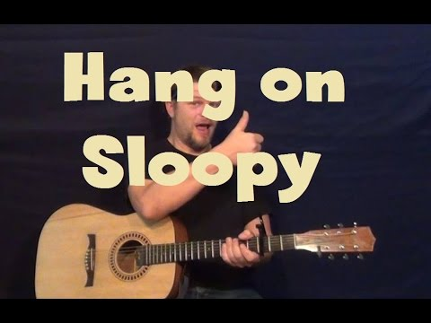 Hang On Sloopy (The McCoys) Easy Guitar Lesson How to Play Tutorial ...