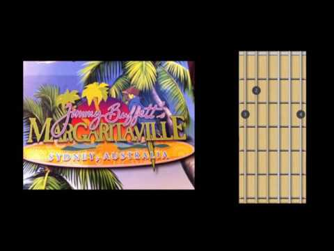 Margaritaville (Jimmy Buffet) guitar chords (tabs)
