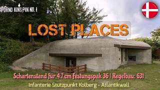 ★ Lost Places (Schartenstand für 4,7 cm Festungs PAK-36│Regelbau: 631│Atlantikwall-Dänemark)