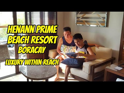 Your Pinoy tour guide at Henann Prime Beach Resort -- 2017 Nominee World Luxury Hotel Awards