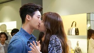 Top 5 scenes {{kisses}}eng sub from W two worlds  Lee Jong-suk and Han Hyo joo