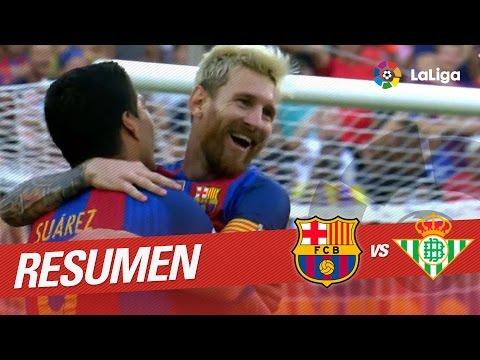 Resumen del FC Barcelona vs Real Betis (6-2)