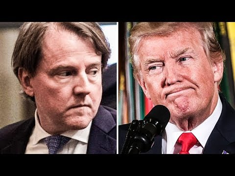 "White House Counselor Don McGahn Learned Of His ""Resignation"" From Trump's Tweets"