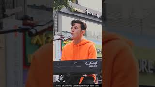 181022 Zak Abel 잭 아벨 You Come First / Busking in Seoul, Korea