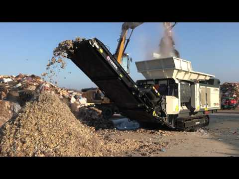 TDS V20 Processing Industrial Waste in France