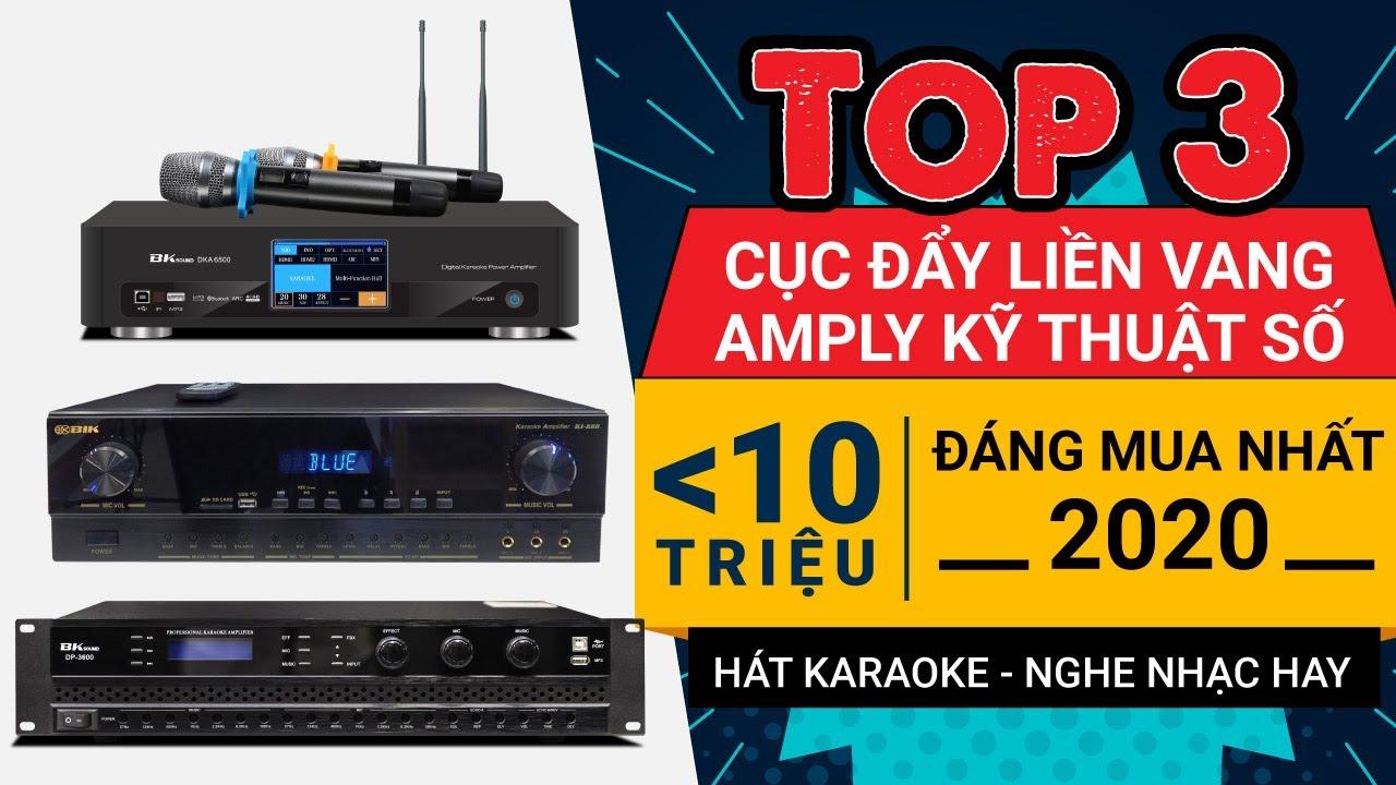 Nên mua đẩy liền vang, Amply, Amply kỹ thuật số liền micro cho dàn karaoke gia đình?