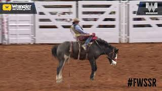 Fort Worth Saddle Bronc Riding Sunday Winners