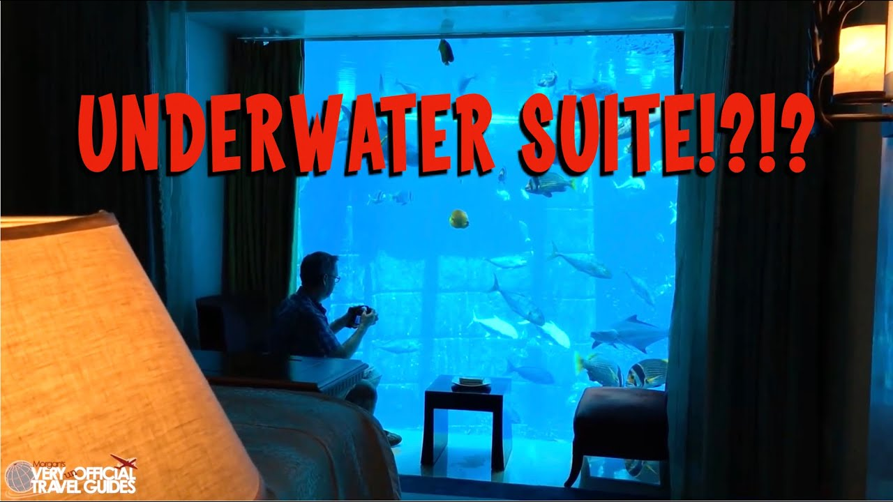 Insane Underwater Hotel Suite Atlantis The Palm In Dubai Very