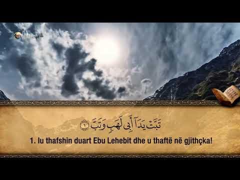 111. Surja El-Mesed - Hfz. Muzafer Ramadani