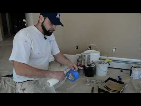 House Painting - Interior House Painting Tips  / Prep - Fix - Paint   / Important Things To Know