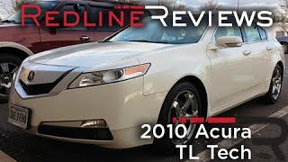 2010 Acura TL Tech Review, Walkaround, Exhaust, Test Drive