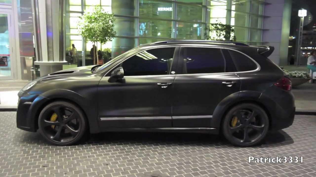 Techart Magnum Porsche Cayenne Black Youtube