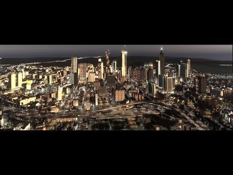 Atlanta Cities Skylines Progress 3 Cinematics + Map Release!