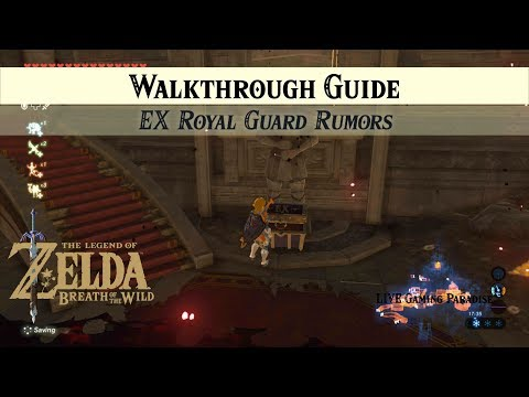 Breath of the Wild | EX Royal Guard Rumors [DLC 2] Side Mission