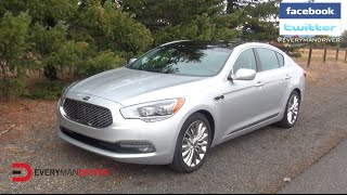 Here s the 2015 Kia K900 Review on Everyman Driver
