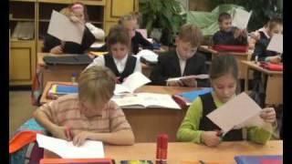 Яхромская школа №3 фильм про урок труда