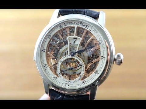 Audemars Piguet Jules Audemars Minute Repeater Jump Hour (26356PT.OO.D028CR.01) Luxury Watch Review