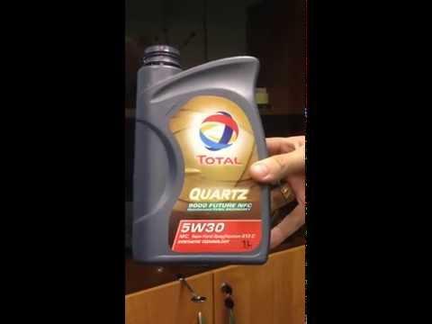 Тест на полимеризацию ( автомобильное масло Total 5w30 )