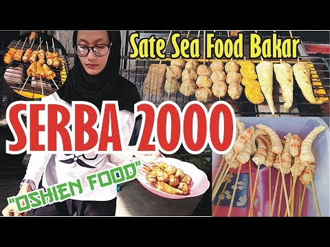 mantul ada 20 jenis sate sea food harga cuma 2000 oshien food indonesia tegal street food youtube mantul ada 20 jenis sate sea food