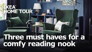 3 Must Haves for a Comfy Reading Nook - IKEA Home Tour