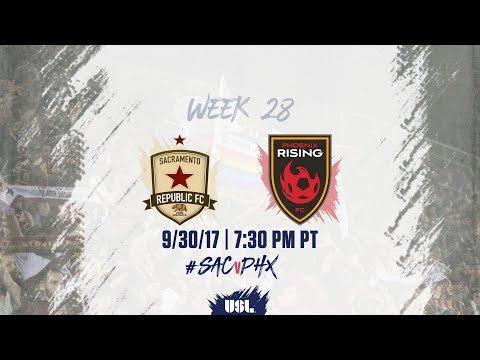 USL LIVE - Sacramento Republic FC vs Phoenix Rising FC 9/30/17