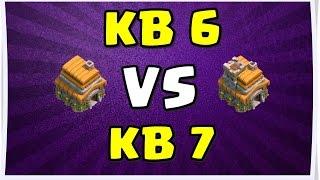 clash of clans ezik saldırılar 1 kb 6 vs kb 7