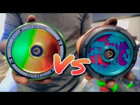 TANNER FOX SIG LUCKY WHEELS VS ROOT INDUSTRIES HOLLOW CORES