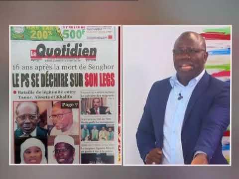 Revue de presse de Ahmed Aïdara du 20 déc 2017