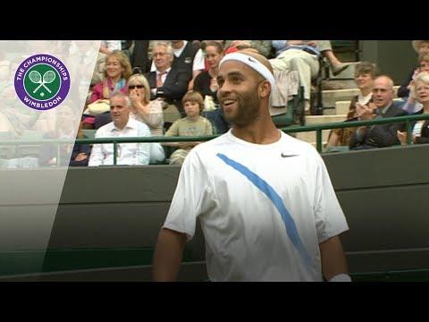 The luckiest Wimbledon shot ever?