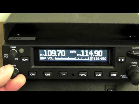 Garmin's New GNC255A Navcomm Radio
