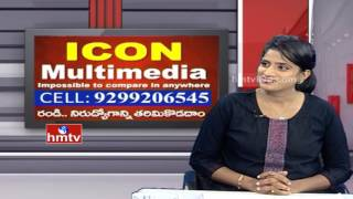 Best Animation Course Suggetions by Chandu ICON Multimedia Career Times HMTV