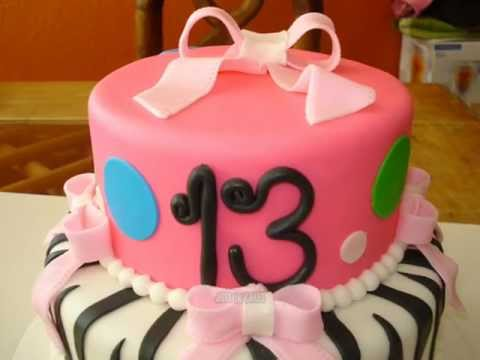 13 Year Old Girl Birthday Cake