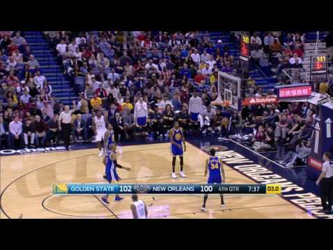 Golden State Warriors at New Orleans Pelicans - December 13, 2016