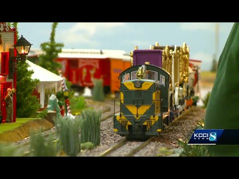 All aboard! Train exhibit brings family fun to Merle Hay Mall